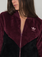 ADIDAS - Felpa clrdo track top amazon red / nero