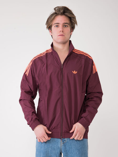 Felpa zip Flamestrike bordeaux