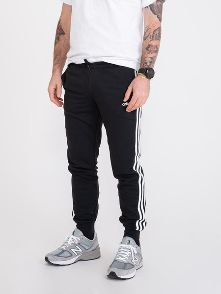 Pantaloni Essentials 3-stripes nero / bianco