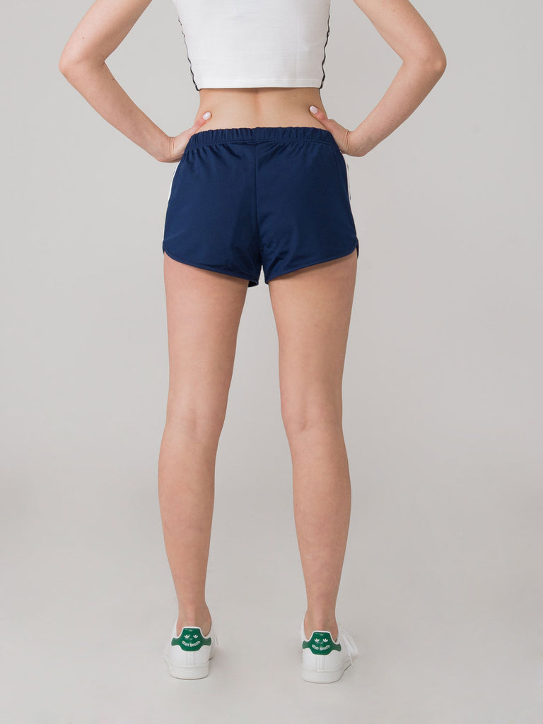 ADIDAS - Shorts 3 stripes blu