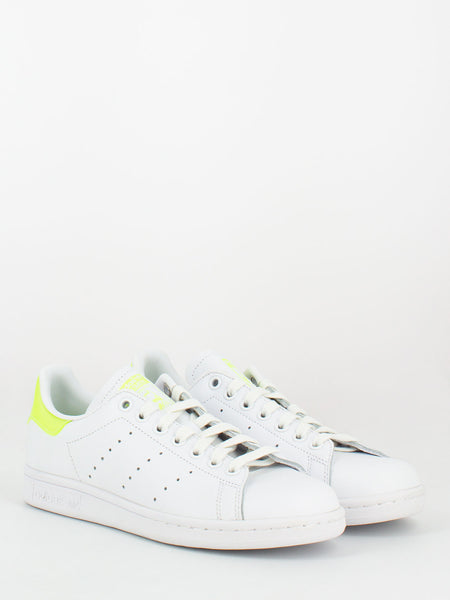 Stan Smith bianco / lime fluo