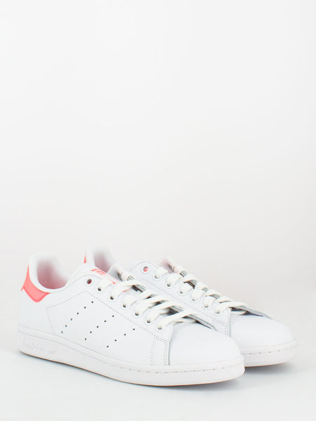 Stan Smith bianco / rosa fluo