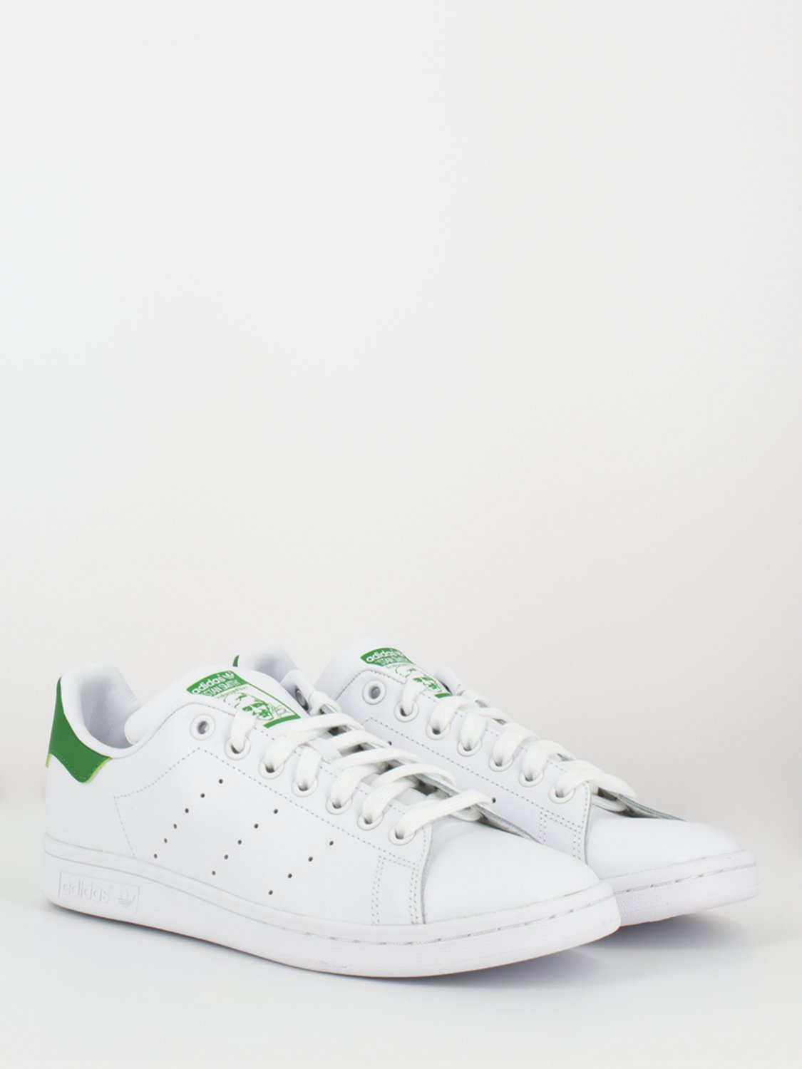 adidas stan smith bianco verde