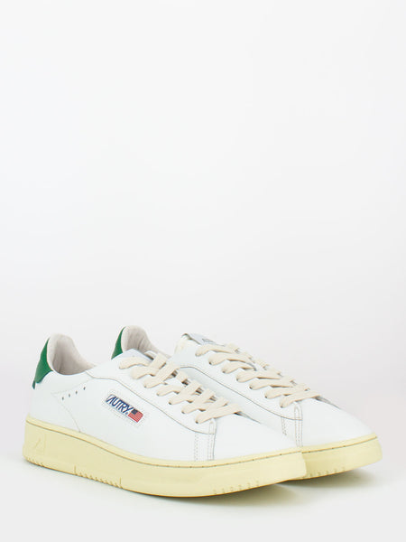 Dallas low in pelle bianco / amazon