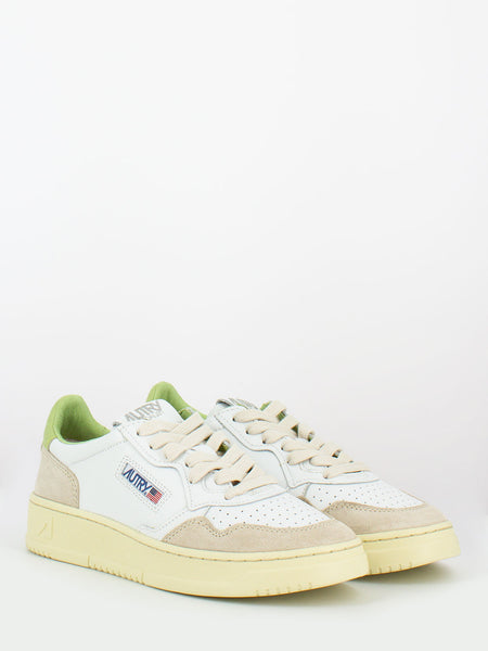Sneakers 01 low bianco / nile