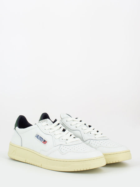 Sneakers 01 low bianco / verde