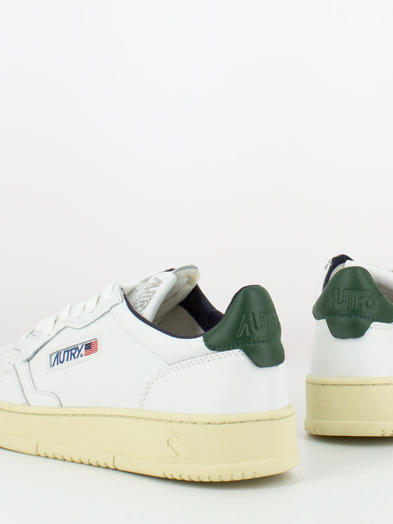 AUTRY - Sneakers 01 low bianco / verde