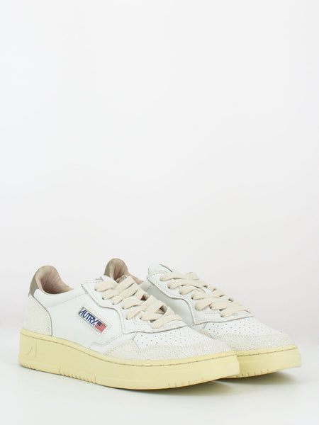 Sneakers 01 low  white / grey