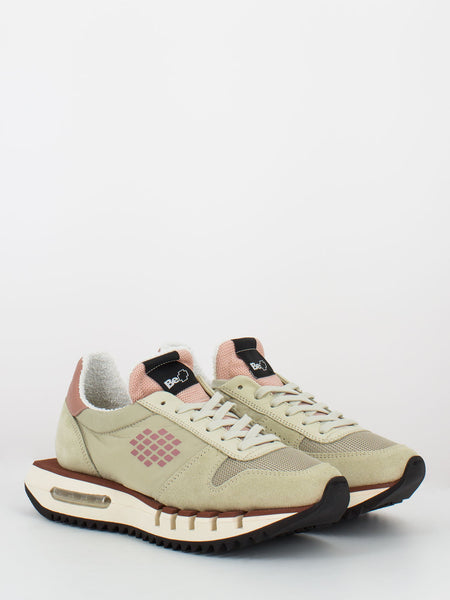 Sneakers Cyber run beige / rosa