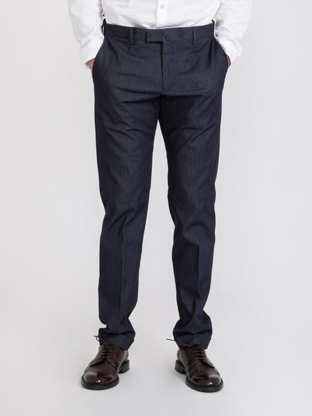 Pantaloni technical stretch blu