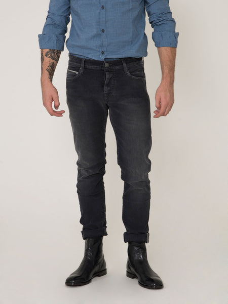 Bodies brass denim grigio scuro