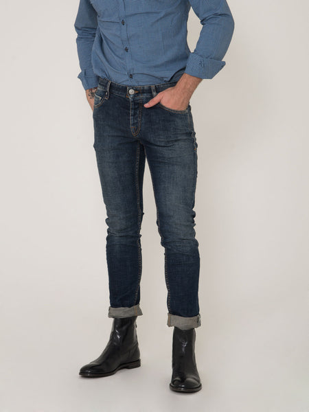 Bodies thavil denim scuro sabbiato