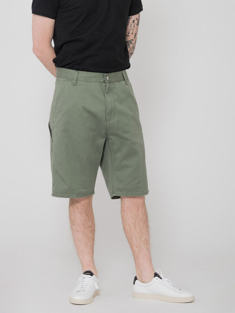 CARHARTT - Bermuda Ruck single knee dollar green