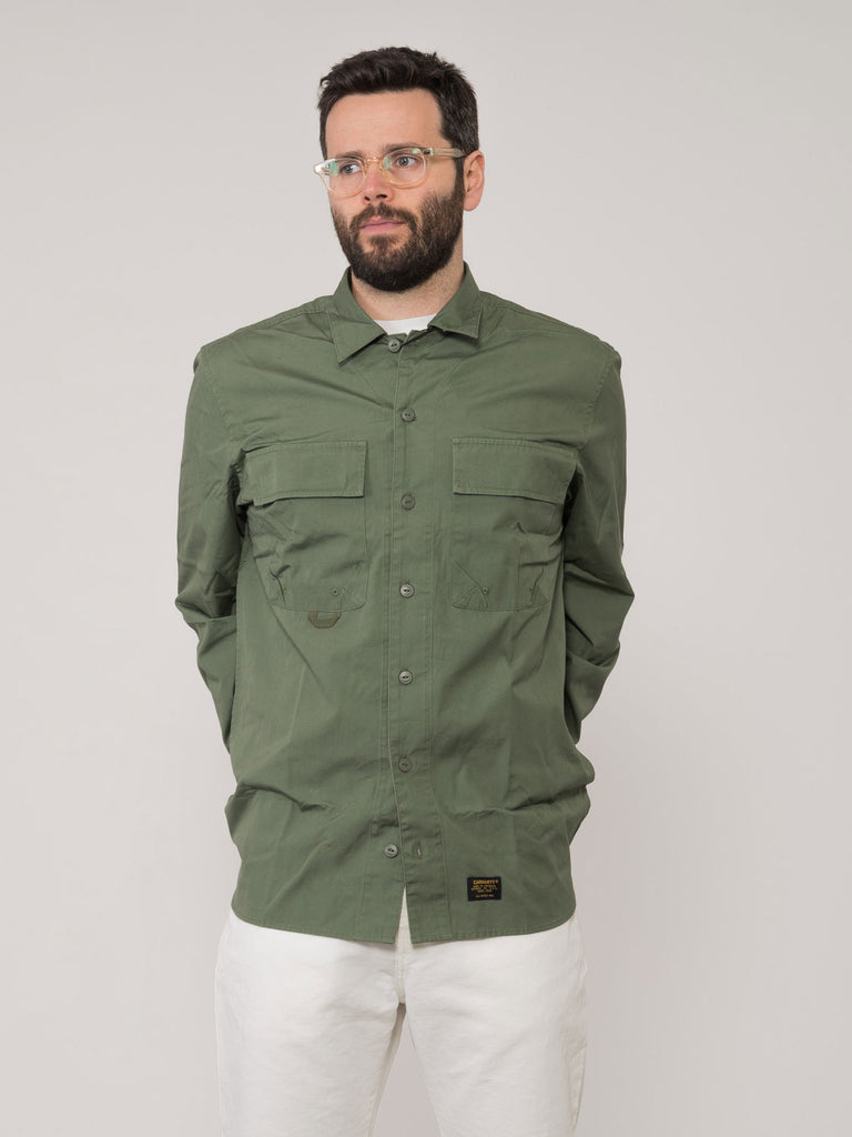 outlet store 98d69 dafaa Camicia L/S Laxford verde
