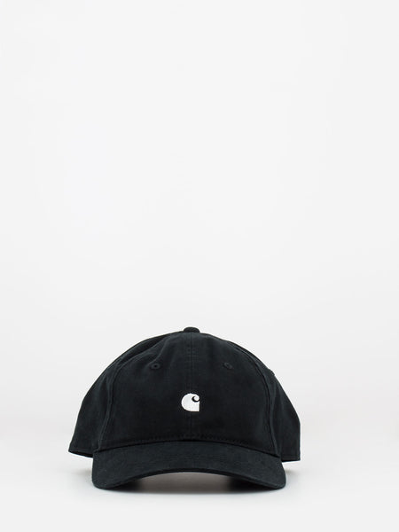 Cappello Madison logo nero