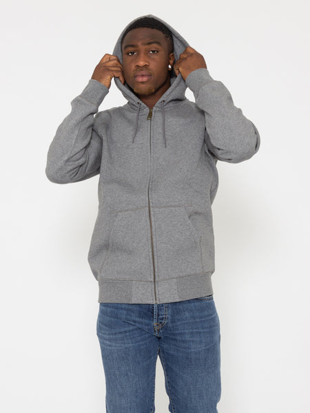 Hooded Chase Jacket grigia