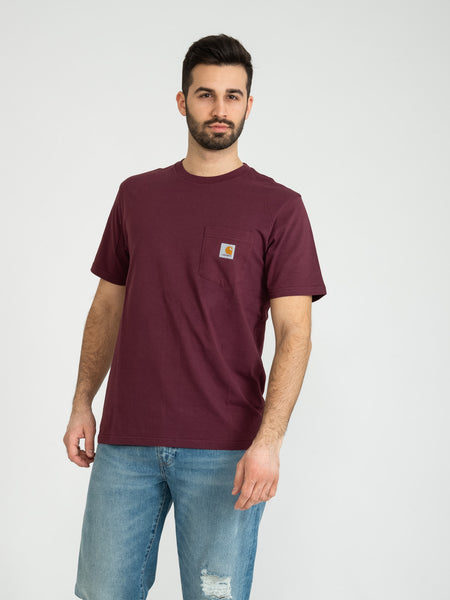 T-shirt Pocket shiraz