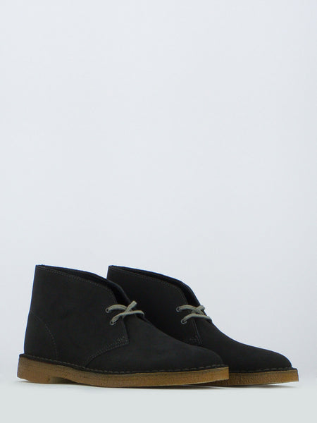 Desert boots in suede antracite