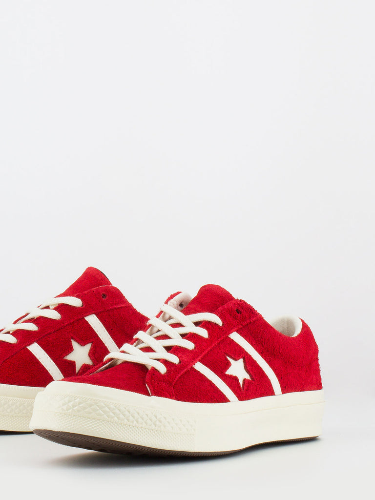 one star converse rosse