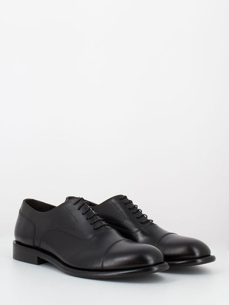Oxford eleganti in pelle nere