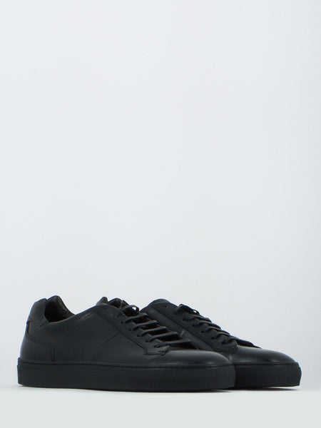 Sneakers in nappa nere