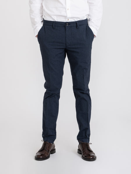 Chinos slim New Town navy