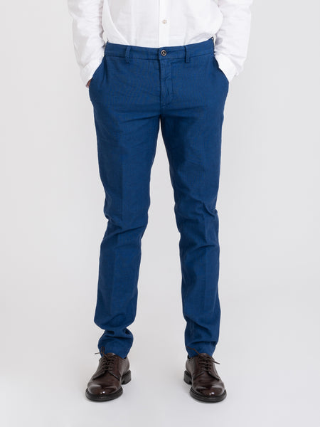 Chinos slim New Town royal