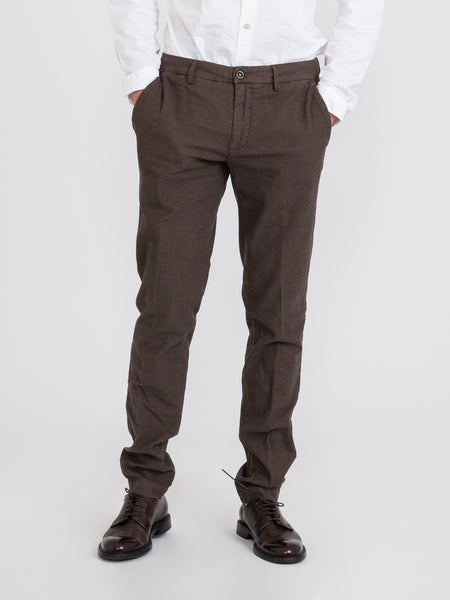 Chinos slim New Town terra