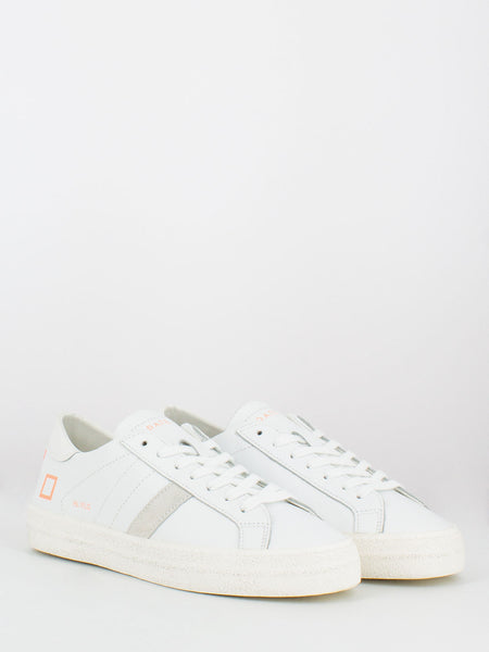 Hill low fluo white / coral