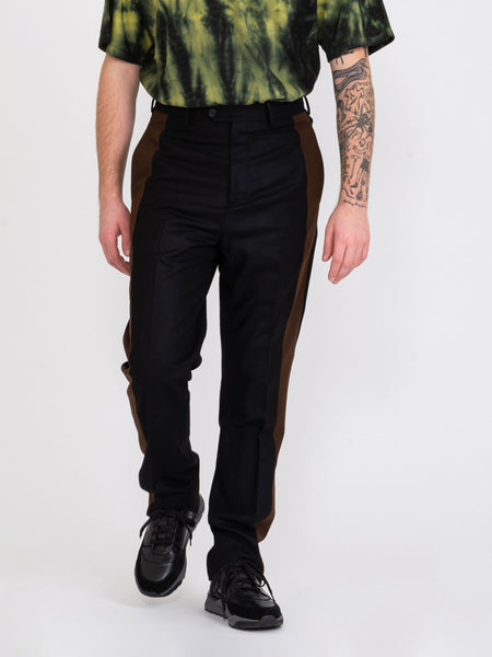 Pantaloni Nelson Band black / brown