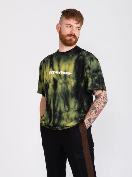 T-shirt Fabian Oversized lime / black