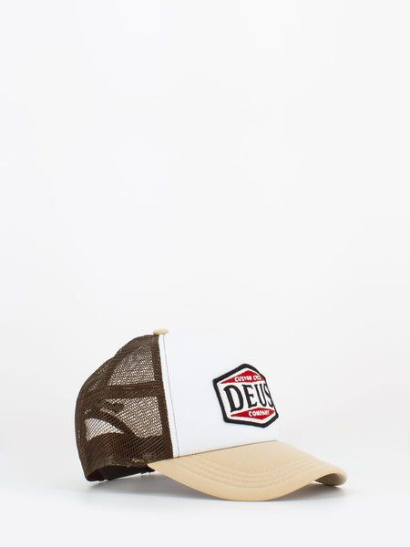 Cappello american twin beige / marrone