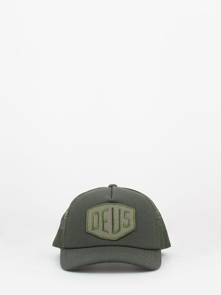 Cappello Terry Shield Truck loden green