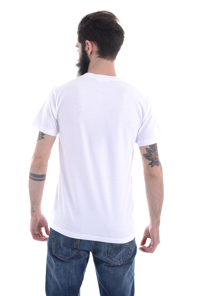 OBVIOUS BASIC – T-SHIRT STAMPA PROFILI WHITE