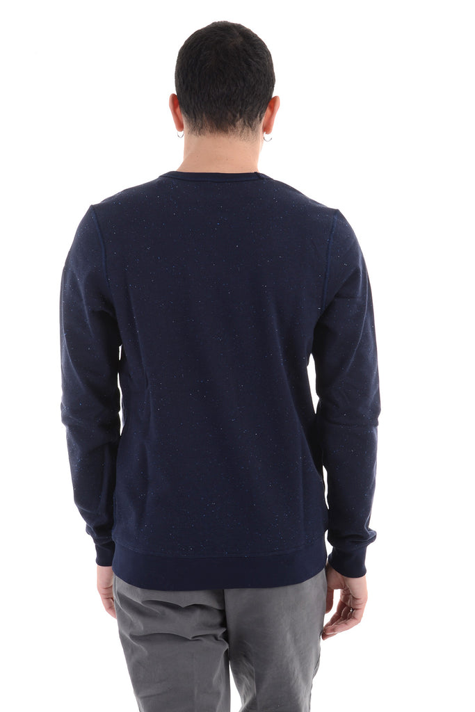 SCOTCH & SODA – FELPA COTONE BLU