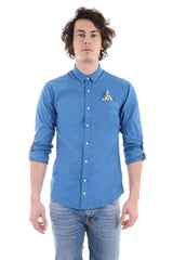 SCOTCH & SODA - CAMICIA QUADRI BLU/VERDE