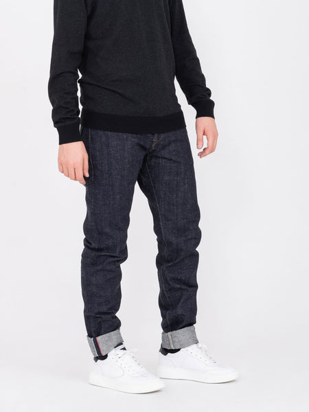 ED 33 regular tapered denim scuro