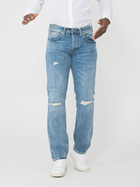 Ed 55 regular tapered denim chiaro