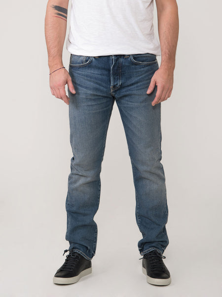 Ed 80 slim tapered denim medio