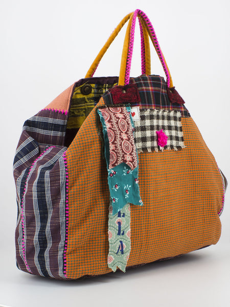 Shopper a mano Elisabetta multicolor