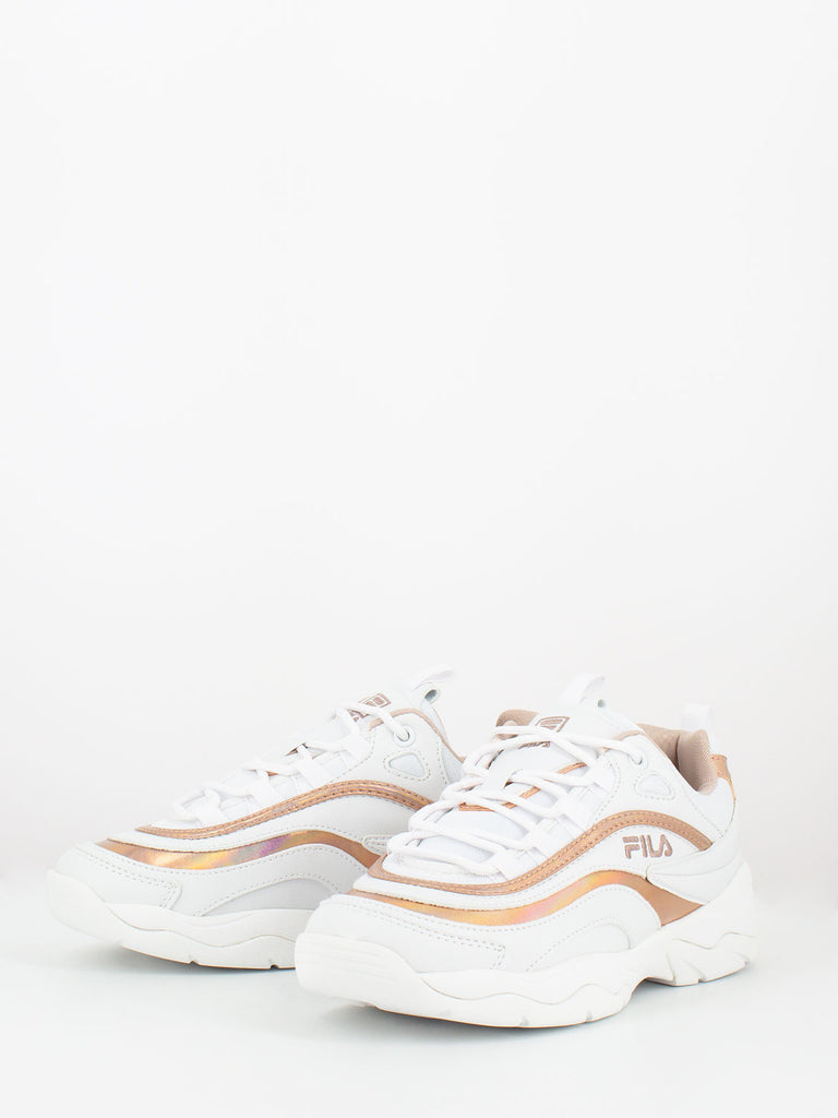 FILA - Ray m low bianco / rose smoke