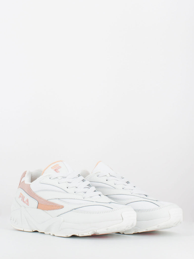 FILA - V94M low bianco / salmon / chalk pink