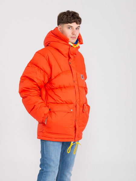 Piumino Expedition Down Lite flame orange