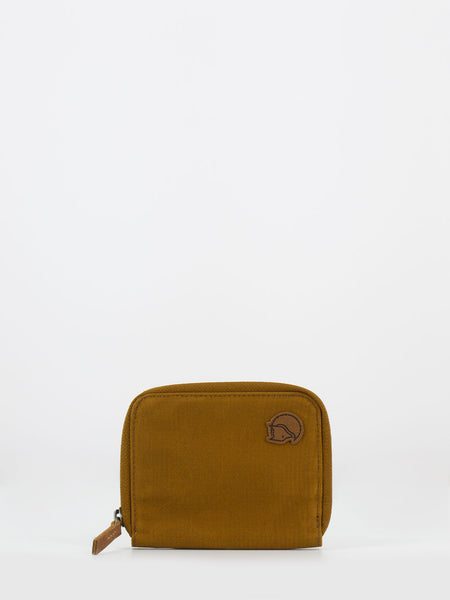 Zip wallet chestnut