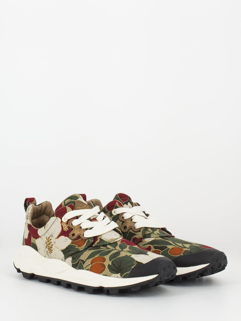 FLOWER MOUNTAIN - Sneakers Pampas red