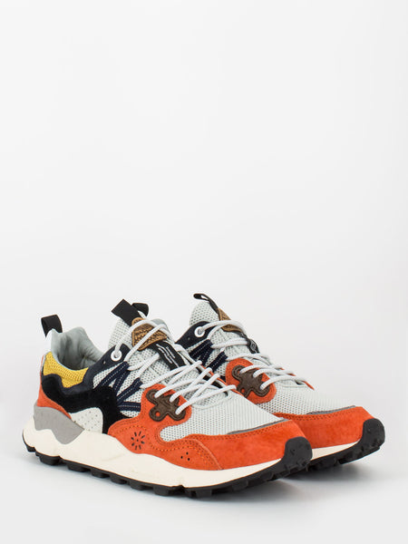 Sneakers Yamano 3 orange / black