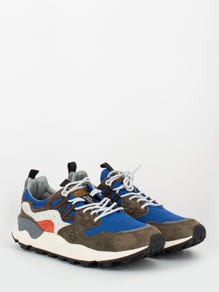 Sneakers Yamano 3 royal / brown