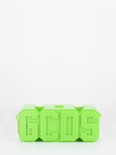 Logo bag verde fluo in plexi