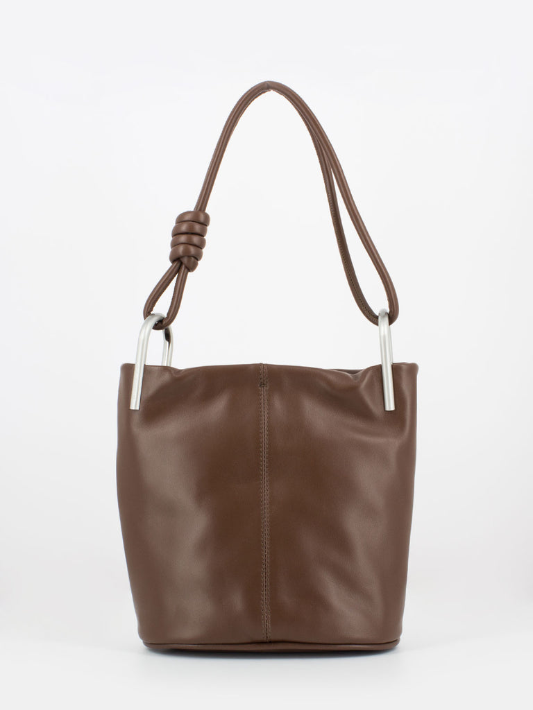 GIANNI CHIARINI - Borsa Ione medium cioccolato
