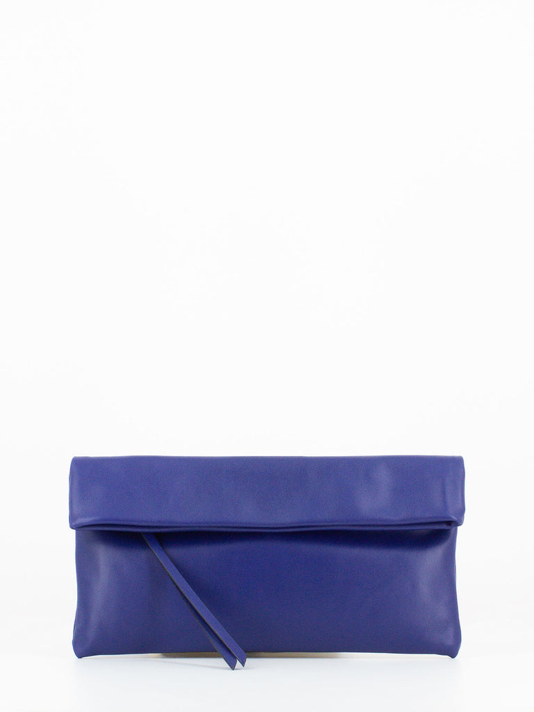GIANNI CHIARINI - Pochette cherry medium klein blue